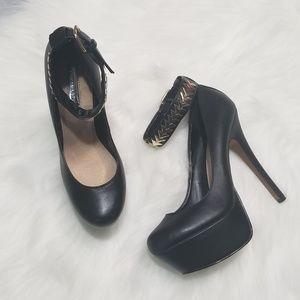H by Halston platform heels